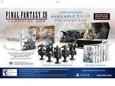 NEW Final Fantasy XII 12 The Zodiac Age Collector's Edition Sony PS4