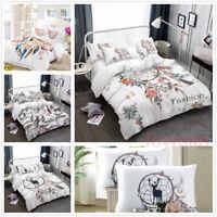 3D Blossom Dream Catcher Feather Bedding Set Duvet Cover Quilt/Comforter Cover