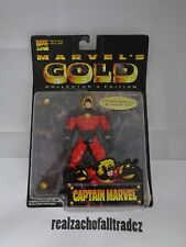 Captain Marvel Marvel's Gold Collector's Edition Action Figure ToyBiz 1997