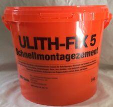 Ulith Fix 5 Schnellmontagemörtel 5 kg Schnellzement Blitzzement Mörtel