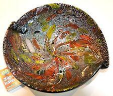 Murano AVEM Dino Martens Rest of the Day Tutti Frutti :  Schale, ca. 21x24,5cm