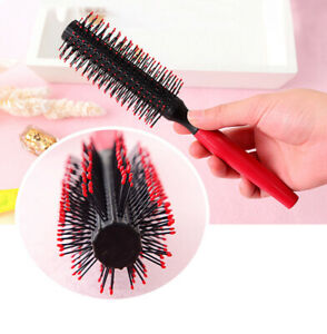 Antistatic Roller Comb Salon Round Hair Brush Salon Styling Comb Hairstyle Tool