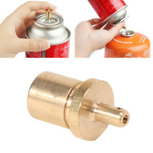 Gas  Refill Adapter Outdoor Camping Stove Cylinder Filling Butane Canis F3