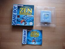 Zen Intergalactic Ninja Gameboy PAL NOE