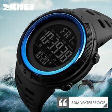 SKMEI Impermeable para Hombre Relojes Moderno Casual LED Digital Exterior SPORTS
