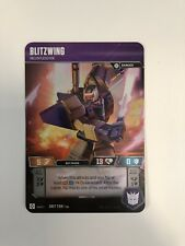 Blitzwing Transformers TCG SRT Character Card Mint