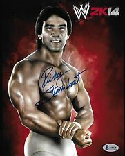 Ricky Steamboat Signed 8x10 Photo BAS Beckett COA WWE HOF 2K14 Picture Autograph