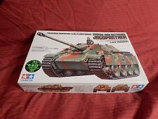 1/35 Tamiya German Jagdpanther Tank Destroyer w/1 Soldier # 203 '96 F/S Bags