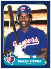 1986 Fleer Update Baseball // U Pick - Build Your Set (1-132) // Buy4+ Save 40%