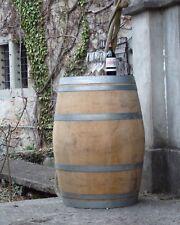 Holzfass, Fass, Barrique Eichenfaß gebrautes Weinfass Stehtisch Weinkeller 225 L