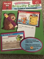 The Mailbox Writing  Activity Cards for Early Finishers: grade ( K-1)