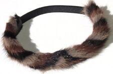 Mink Hairband Tricolor Headband Chain Hair Accessories Mode