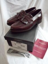 New Samuel Windsor Handmade 100% Leather Brown Classic 'Kempton' Shoes UK 8