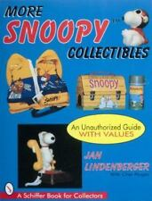 More Snoopy Collectibles (Schiffer Book for Collectors)-ExLibrary