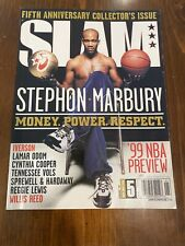 Stephon Marbury Money Power Respect Slam Magazine