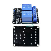 2/5PC 5V Two 2 Channel Relay Module With optocoupler For PIC AVR DSP ARM Arduino