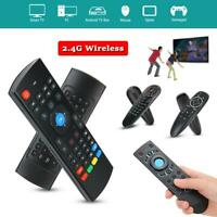 2.4GHz Wireless Air Mouse Smart Voice Remote Control Controller for HDTV Black