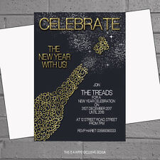 New Year S Invitation Cards Ebay