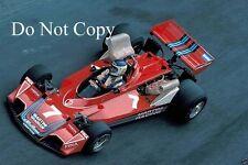 Carlos Reutemann Martini Brabham BT45 Monaco Grand Prix 1976 Photograph 6