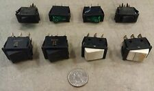 7OO26       SET OF 8 ASSORTED ROCKER SWITCHES, GOOD CONDITION