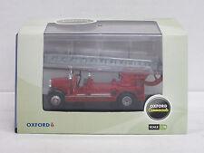 """Leyland TLM Fire Engine Leiterwagen """"London Fire Brigade"""", Oxford, OVP, 1:76"""