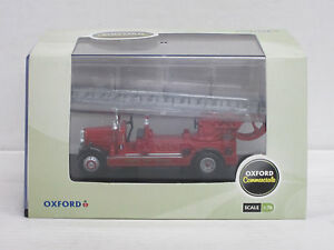 "Leyland TLM Fire Engine Leiterwagen ""London Fire Brigade"", Oxford, OVP, 1:76"