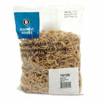 "Business Source Quality Rubber Band - Size: #10 - 1.25"" Length X 62.5 Mil Width"