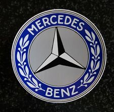 BLUE MERCEDES BENZ STICKER