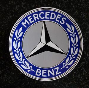 BLUE MERCEDES BENZ STICKER