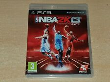 NBA 2K13 PS3 PLAYSTATION 3 Juego Reino Unido
