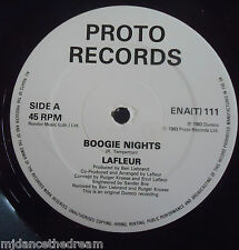 "LAFLEUR ~ Boogie Nights ~ 12"" Single"