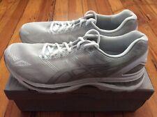 NEW Asics Gel-Nimbus 19 Men's Running Shoes - Gray/White - Sz 11.5