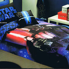 Star Wars -Darth Vader Rules - Disney Double/US Full Bed Quilt Doona Duvet Cover