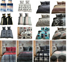 Fleece Bettwäsche 135x200 155x220 200x200  Bettbezug Teddy Plüsch  2-tlg 3-tlg