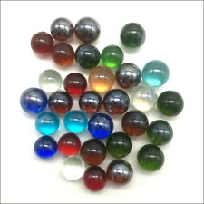 Wholesale 14mm 16mm Glass Beads Marbles Kid Adult Toy Mix Colors Transparent