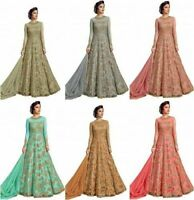 Indian Bollywood Anarkali Suit Party Wear Salwar Kameez Indian Pakistani Shalwar