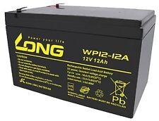 Kung Long VdS WP12-12 12V 12Ah AGM Blei Akku Batterie wartungsfrei VdS battery