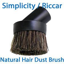 "Simplicity & Riccar Vacuum Dust Brush (1.25"" Fitting) *Natural & Nylon Bristles"