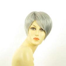 Perruque femme grise cheveux lisses ref ALEXANDRA 51