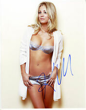REPRINT - KALEY CUOCO 2 The Big Bang Theory autographed signed photo copy