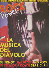 ROCK POWER 1 2000 Limp Bizkit Slipknot Nine Inch Nails Static-X Kid Rock Garbage