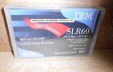 NEW IBM 19P4209 SLR60 30GB/60GB Data Cartridge SLR 41115 SLR100 SEALED Tape