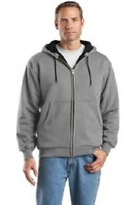 New 4 Heavyweight Thermal Lined FullZip Sweatshirt Embroidered Free4Ur Co