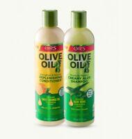 ORS Cream Aloe Hair Shampoo & Replenishing Conditioner (Orange Oil & Aloe) 362ml