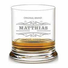 """Leonardo Whiskyglas mit Gravur graviert individuell """"Original Brand"""" Wunschname"""