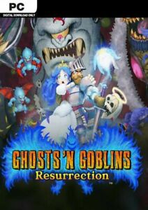 Ghosts n Goblins Resurrection PC Game Offline S Team Fast Post Great Condition
