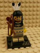 *NEW* Lego Series 1 Tribal Hunter Indian 8683 Figure Fig Bow Arrow Quivers x 1