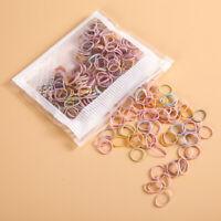 100-200x Mini Girls Elastic Rubber Bands Braiding Small Braids Plaits Hair Ropes