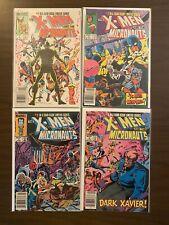 X-Men and the Micronauts 1-4 High Grade Marvel Lot Set Run CL74-1