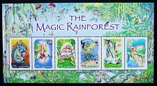 2002 THE MAGIC RAINFOREST MINI SHEET **MUH**!!!!!